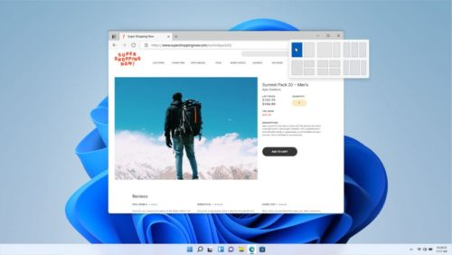 Snap-Assist in Windows 11