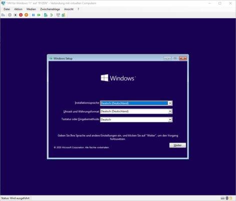 Windows 10 in Hyper-V installieren