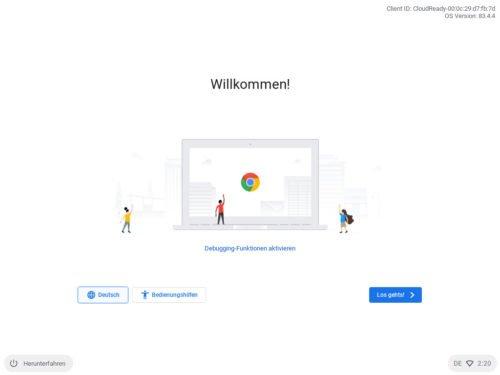 CloudReady auf Basis von Chrome OS installieren