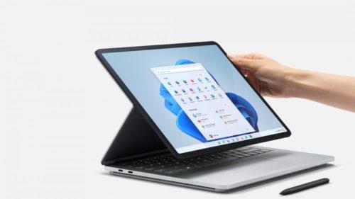 Das neue Surface Laptop Studio mit Windows 11