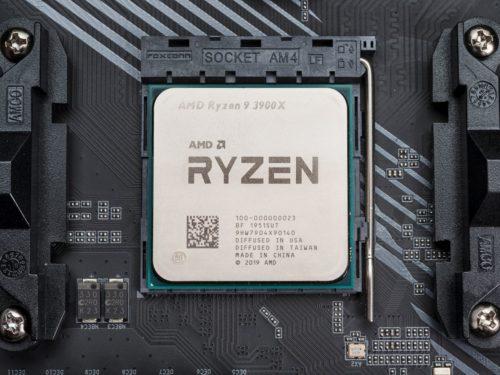 AMD Ryzen Prozessor im Sockel