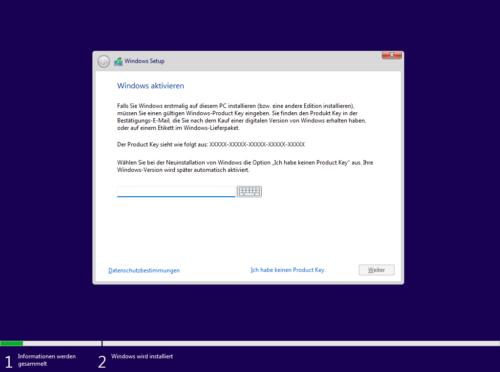Windows 11 Installieren