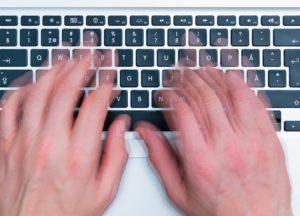 Tippen mit zehn Fingern auf PC und Mac