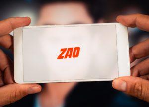 Deepfake-App Zao auf einem iPhone
