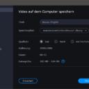 Export mit Movavi Video Editor Plus
