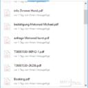 Trayinfos Dropbox nach Download
