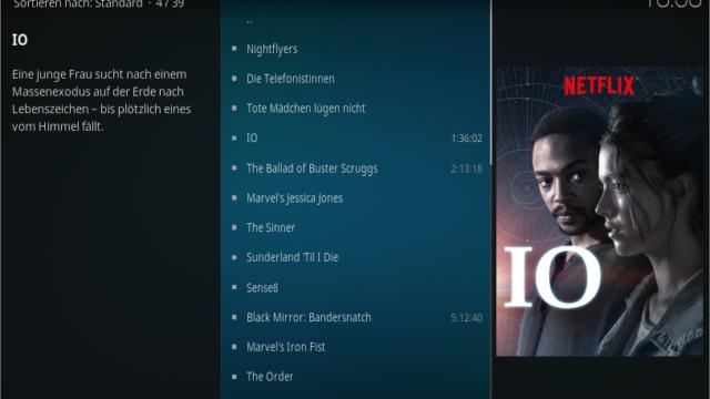Netflix unter Kodi