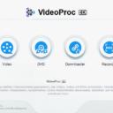 VideoProc 4K Hauptmenü