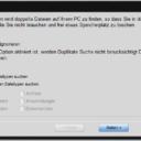 Dup File finder Anpassungen