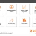 XLSTAT Auswahl der Funktionen