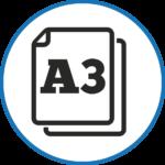 din a3 icon
