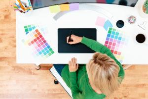 farbe grafiktablett