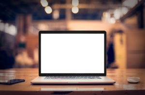 laptop schreibtisch