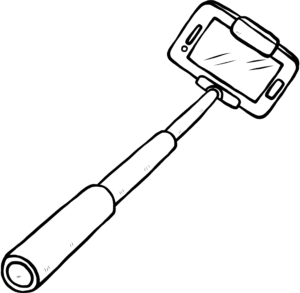 selfie stick icon