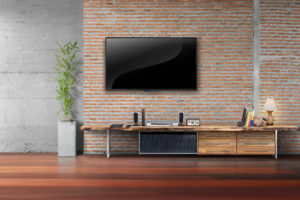 4K-Fernseher Wohnzimmer