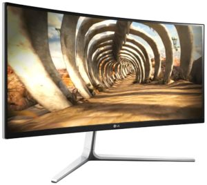 curved monitor lg