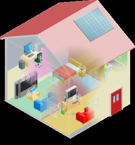 Internetversorgung im Haus