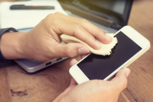 reinigung smartphone