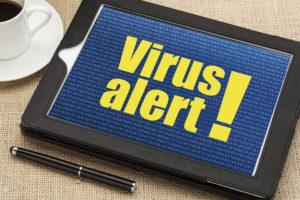 virus tablet