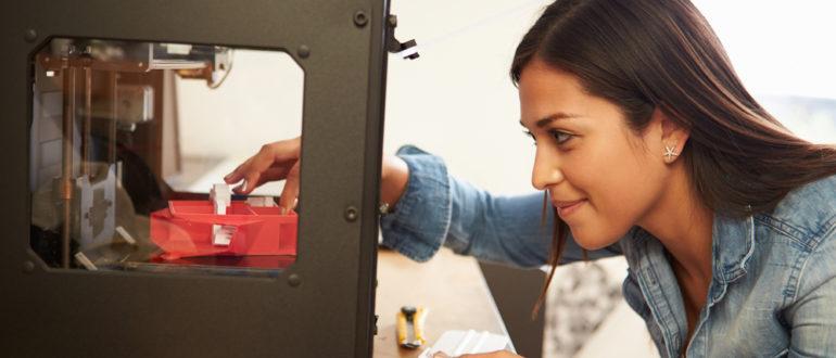3D-Drucker Bedienung