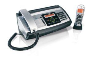 Faxgerät Telefon Test