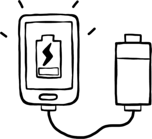 Powerbank Illustration