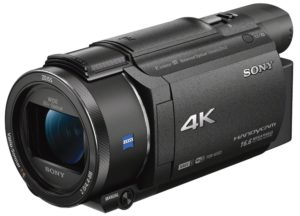 camcorder sony test