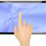 touchscreen monitor groesse