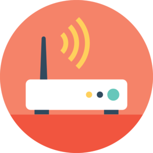 WLAN Karte Illustration