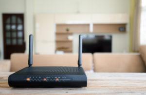 router wohnzimmer