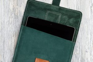 tablet case aus leder