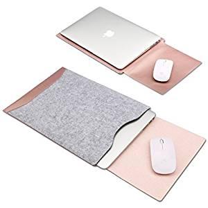 mac book huelle mit mouse pad