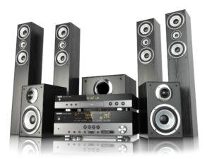 stereoanlage zwei Lautsprechern