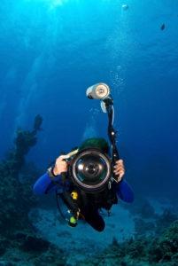 Unterwasser-Gehäuse