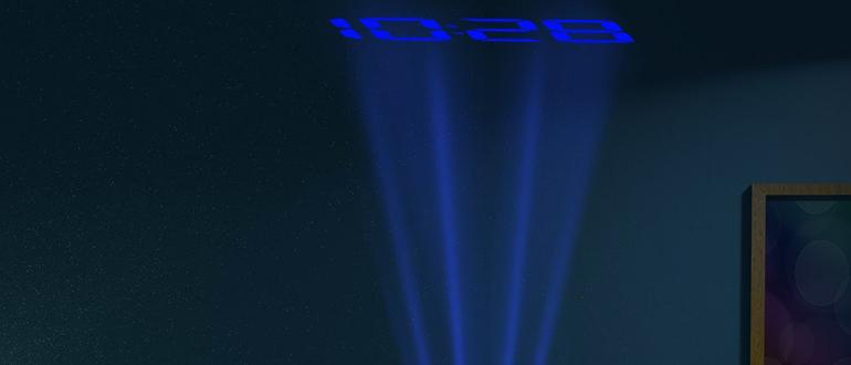 Projektionswecker Test
