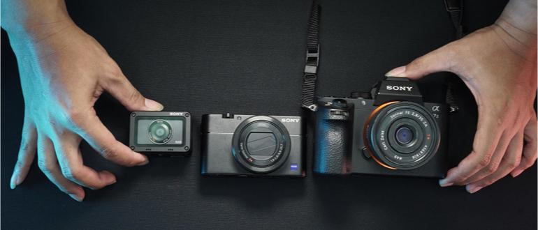 dslm-kamera von sony